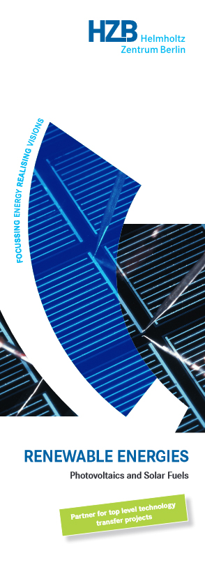 PDF: Renewable Energies: Photovoltaics and Solar Fuels