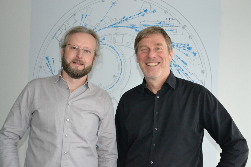 Dr. Björn Rau und Dr. Markus Sauerborn from the consulting office.