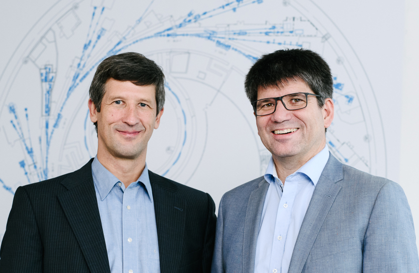 Prof. Dr. Jan Lüning (l.) and Prof. Dr. Bernd Rech (r.) have been appointed as scientific directors of HZB since June 1, 2019.