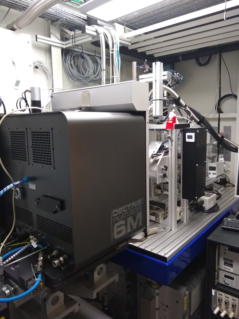 "<p class=""MsoPlainText"">The MX-beamline 14.1 has been upgraded with a new, better, faster and more sensitive PILATUS-detector.</p> <p class=""MsoPlainText"">&nbsp;"