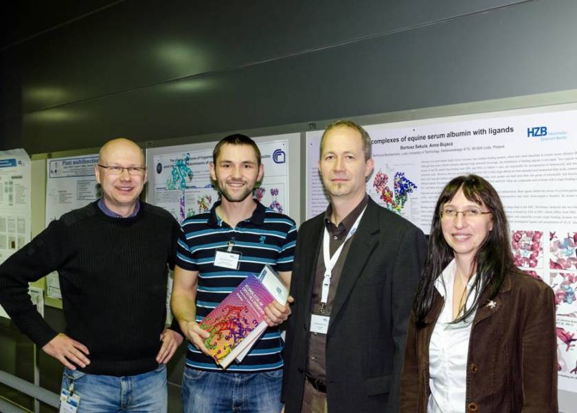 On the photo are shown from left to right <br />Manfred Weiss (HZB-MX), Bartosz Sekula (Lodz),<br />