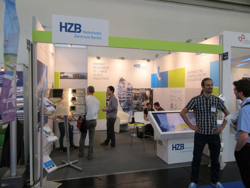 HZB booth at EU PVSEC in Munich