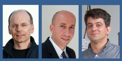 Prof. Klaus Lips, Prof. Emad Aziz and Dr. Alexander Schnegg (f.l.t.r) have been awarded with adjunct professorships by Monash-University.