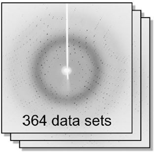 The newly developed expert system was used to analyse 364 data sets of a specidfic protein crystal, soaked in different fragments.