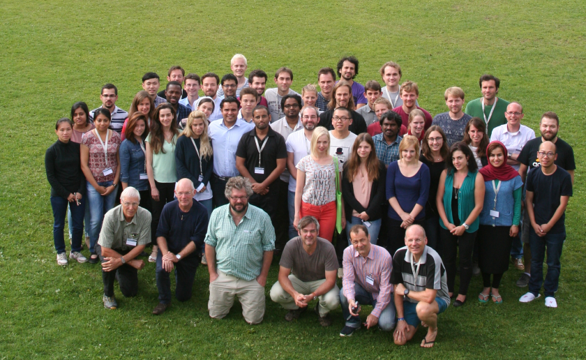Last year's Quantsol students came from all over the world. The location offers space for 56 students.