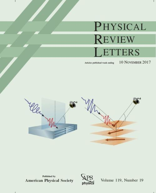 The cover of the 10. november issue of PRL highlights the work done by Nele Thielemann-K&uuml;hn and colleagues: The study was selected as well for a Focus story in Physics and an Editors&rsquo; Suggestion.<br />