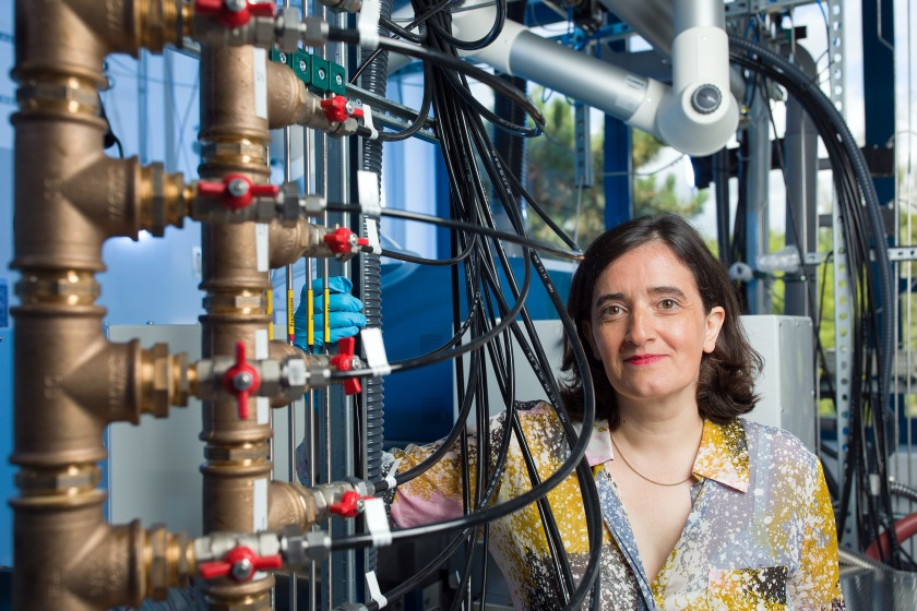 Professor Catherine Dubourdieu is head of the HZB Institute Functional thin film oxides for energy efficient future IT.