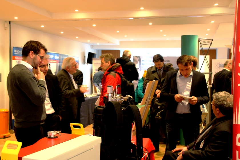 Coffee breaks gave valuable time for exchange and to visit also the vendor exhibition.