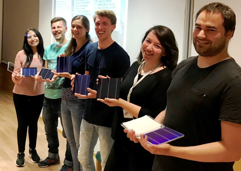 Alejandra Villanueva Tovar, Pavlo Perkhun, Erin Looney, Tom Veeken, Gizem Birant, Harald Reinhold (from left) have been awarded with an HQCQ 2018.
