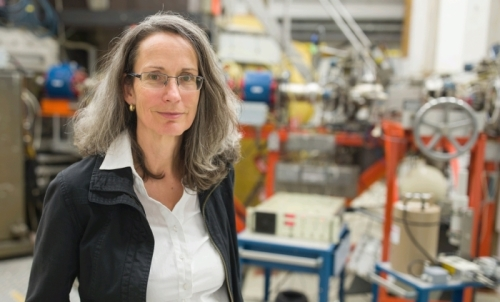 "Prof. Dr. Andrea Denker is the head of the department ""Proton Therapy"" at HZB."