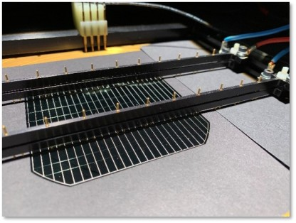 Image of a silicon perovskite tandem solar cell