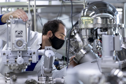 Part of the IRIS research labs will be equipped for research on catalysts. Photo