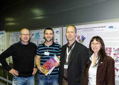 On the photo are shown from left to right Manfred Weiss (HZB-MX), Bartosz Sekula (Lodz),