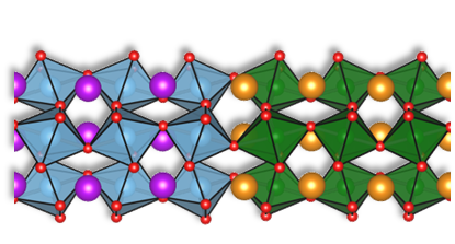 Sketch of the structure of both metal oxide layers. Interesting new properties can arise at the interface.