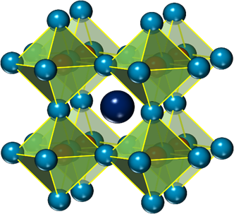 BFO has a perovskite crystal structure.
