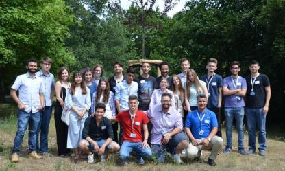 21 students from all over the world will work on their research projects during summer at HZB.