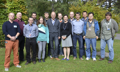 Participants and mentors of this year's Neutron Summer School.