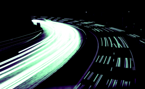 <p>Some contemporary Synchroton Radiation methods need pulsed x-rays with a specific time structure. HZB-users at BESSY II can use them now on demand. Graphics: Highway at night, K. Holldack/HZB</p> <p></p>