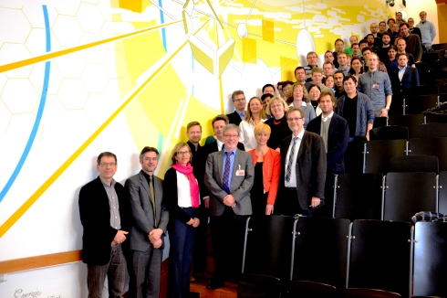 <p>Leading scientists presented the research programme for the two new graduate schools, HZB is organising together with HUB and UP. credit: Jennifer Bierbaum/HZB</p> <p></p>