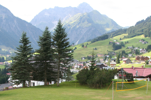 <p>Learning about solar fuels and photovoltaics goes green. The summerschool takes place from 3. to 10. september 2017 in the idyllic Kleinwalsertal, Austria. Credit: Quantsol/HZB</p>