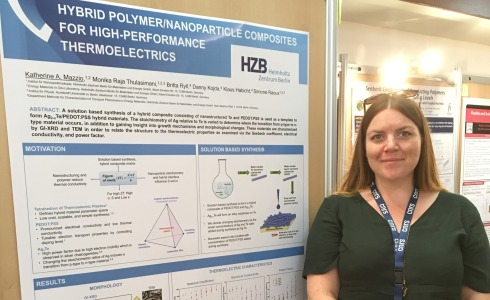 <p>Katherine Ann Mazzio was awarded for her poster contribution at the ICT2018 in Caen.</p>