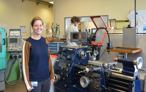 <p>Milena Meschenmoser completed the best apprenticeship of her year. After finishing her training as a precision mechanic, she now has new plans.</p>