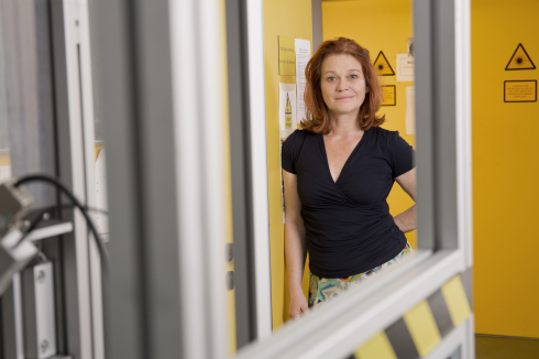<p>Prof. Birgit Kanngie&szlig;er heads a joint research group on X-ray methods, which is funded by TU Berlin and HZB.</p>