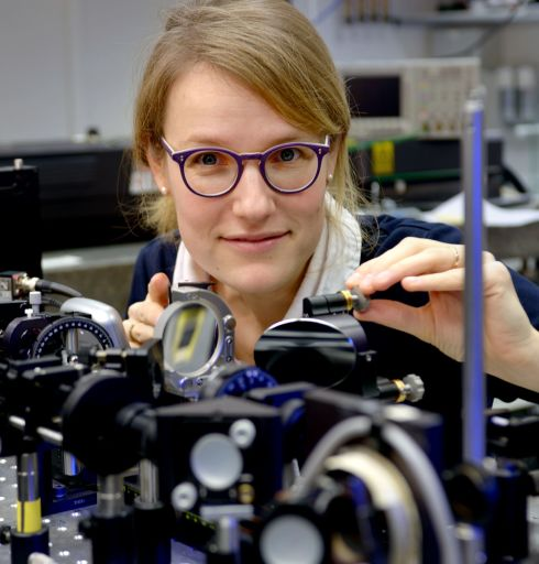 <p>Renske van der Veen has a lot of experience with ultrafast x-ray measurements.</p>