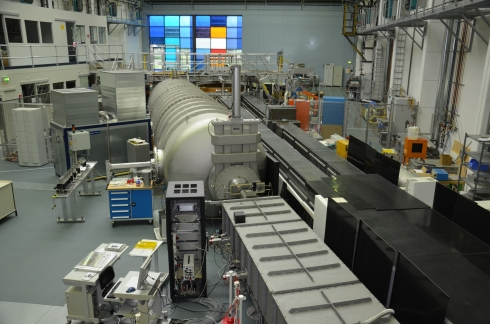 <p>The VSANS instrument (here in the neutron hall at BER II) will move to Penn State University.</p>