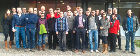 <p>Participants of the HERCULES kickoff meeting on 21-22 November 2013 at Institut National d&rsquo;Energie Solaire (INES) in Le Bourget du Lac near Chamb&eacute;ry, France.</p>