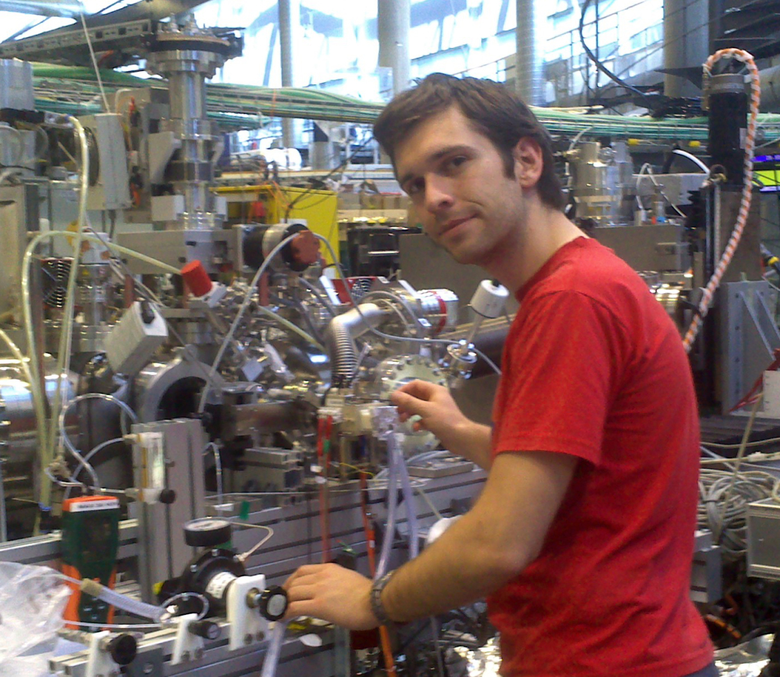 Christoph Schwanke  at the soft x ray beamline