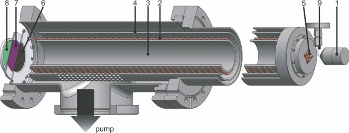 Design of the TOF electron spectrometer