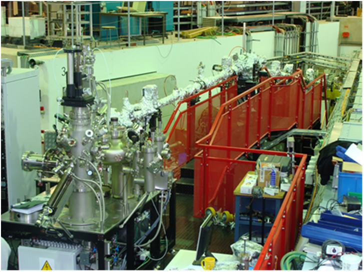 Fig.1 HESGM Beamline