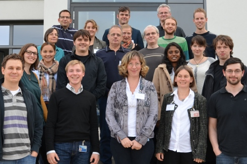 Prof. Susann Schorr with participants of Graduate School MatSEC