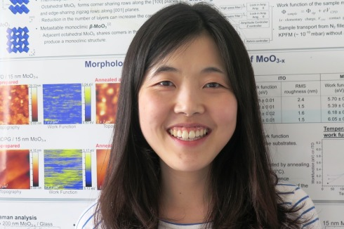 <p>Ah Reum Jeong has completed her PhD in physics at Ewha Womans University in Seoul, Korea. She now works as a postdoc in the Hybrid Material Systems & Nano-Analytics team of Dr. Marin Rusu.</p>