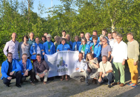 <p>From the 5th to the 8th of June, 1,200 sports enthusiasts from 36 European research centres came to Mol, Belgium, for the Atomiade. The HZB team's trip was an outstanding success.</p>