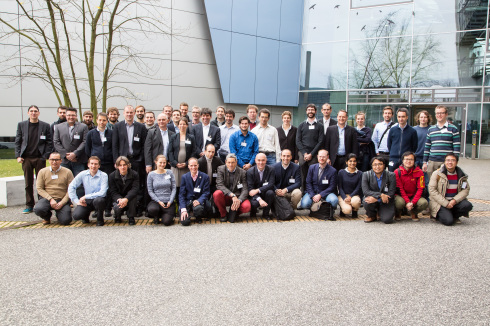<p>Participants of the European Workshop on Nanophotonics for Solar Energy. Credit: HZB</p>