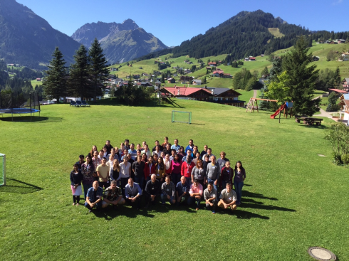 <p>Learning about solar fuels and photovoltaics goes green:  Last year's Quantsol students come from all over the world to meet solar energy experts in Kleinwalsertal, in the Austrian Alps. The location offers space for 56 students.</p>