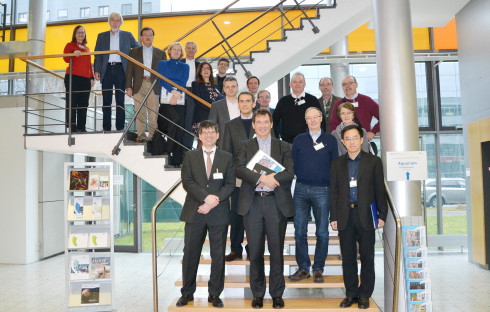 "<p>The review panel of the research field ""Matter"" visited the HZB on 11th January 2018.<strong><br /></strong></p> <p>Photo. HZB/J. Bierbaum</p>"