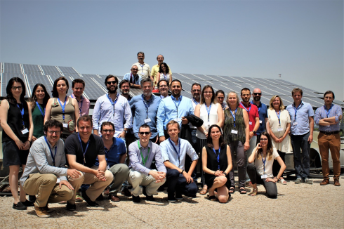 <p>Participants from partner institutions at the GRECO kick off in Madrid on 25. June 2018.</p>